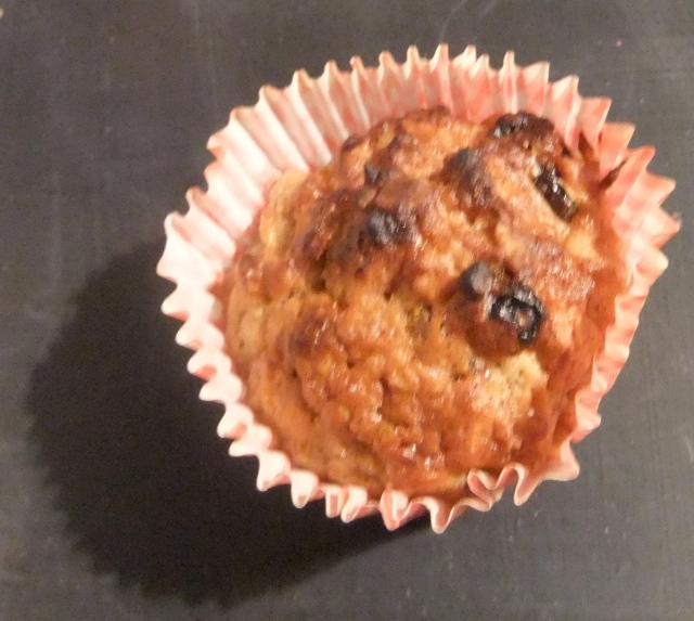 Breakfast Banana Muffin